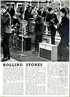 STONES at - ROLLING STONES PRINTED ITEMS